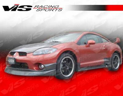 VIS Racing - Mitsubishi Eclipse VIS Racing D Speed Side Skirts - 06MTECL2DDSP-004