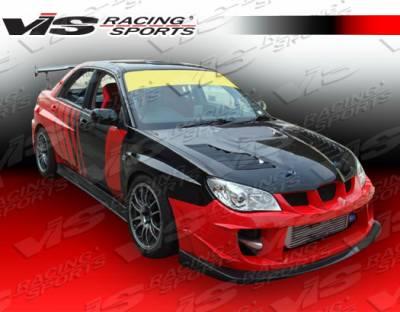 VIS Racing - Subaru WRX VIS Racing Zyclone Side Skirts - 06SBWRX4DZYC-004