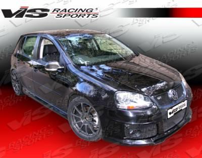 VIS Racing - Volkswagen Golf VIS Racing C-Tech Side Skirts - 06VWGOF2DCTH-004