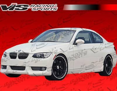 VIS Racing - BMW 3 Series VIS Racing A Tech Side Skirts - 07BME922DATH-004