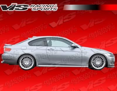 VIS Racing - BMW 3 Series VIS Racing Euro Tech Side Skirt - 07BME922DET-004