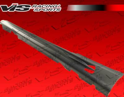 VIS Racing - BMW 3 Series VIS Racing RSR Side Skirt - Carbon Fiber - 07BME922DRSR-004CC