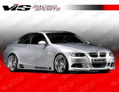 VIS Racing - BMW 3 Series VIS Racing R Tech Side Skirts - 07BME922DRTH-004