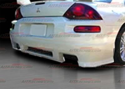 AIT Racing - Mitsubishi Eclipse AIT Racing REV Style Rear Bumper - ME00HIREVRB