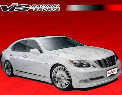 VIS Racing - Lexus LS VIS Racing VIP Side Skirts - 07LXLS44LVIP-004
