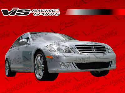 VIS Racing - Mercedes-Benz E Class VIS Racing B-Spec Side Skirts - 07MEW2114DBSC-004