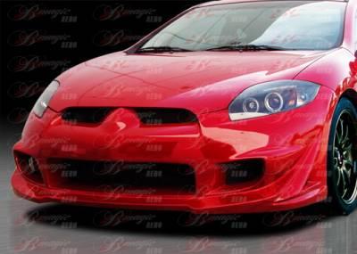 AIT Racing - Mitsubishi Eclipse AIT Racing Blackout-3 Style B-Magic Front Bumper - ME06BMBKO3FB
