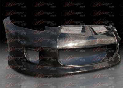 AIT Racing - Mitsubishi Eclipse AIT Racing Blackout-1 Style B-Magic Front Bumper - ME06BMBKOFB