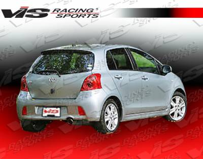 VIS Racing - Toyota Yaris VIS Racing JDM Racing Series Side Skirts - 07TYYARHBRS-004