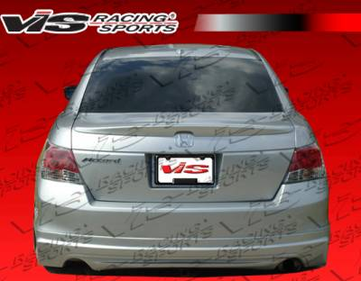 VIS Racing. - Honda Accord 4DR VIS Racing Techno R Side Skirts - 08HDACC4DTNR-004