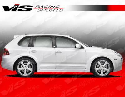 VIS Racing - Porsche Cayenne VIS Racing A-Tech Side Skirts - 08PSCAY4DATH-004