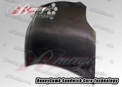 AIT Racing - Mitsubishi Eclipse AIT Racing OEM Style Carbon Fiber Hood - ME06BMCFH