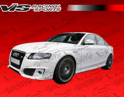VIS Racing - Audi A4 VIS Racing A Tech Side Skirts - 09AUA44DATH-004