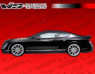 VIS Racing. - Bentley Continental GT VIS Racing Astek Side Skirts - 09BECON2DAST-004