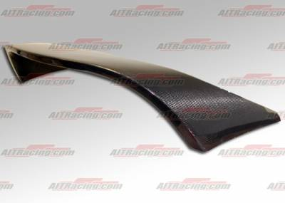 AIT Racing - Mitsubishi Eclipse AIT Racing GSX Style B-Magic Carbon Fiber Wing - ME06BMGSXRWC