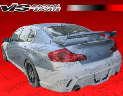 VIS Racing - Infiniti G37 VIS Racing K Speed Side Skirts - 09ING374DKSP-004