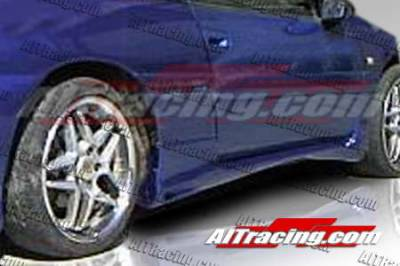 AIT Racing - Mitsubishi Eclipse AIT Racing Combat Style Side Skirts - ME92HICBSSS