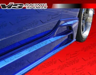 VIS Racing - Hyundai Genesis VIS Racing JPC Side Skirt - 10HYGEN2DJPC-004