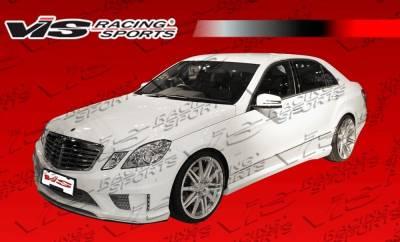 VIS Racing - Mercedes-Benz E Class VIS Racing B Spec Side Skirts - 10MEW2124DBSC-004