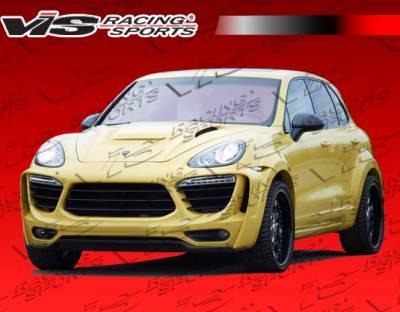 VIS Racing. - Porsche Cayenne VIS Racing Matrix Side Skirts - 11PSCAY4DMTR-004