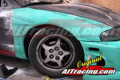 AIT Racing - Mitsubishi Eclipse AIT Racing D1 Style Front Fenders - ME95HID1SF