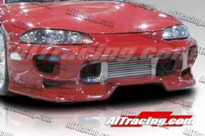 AIT Racing - Mitsubishi Eclipse AIT Racing VS-Bomb Style Front Bumper - ME95HIVSBFB