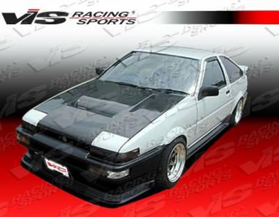 VIS Racing - Toyota Corolla VIS Racing JB Side Skirts - 84TYCOR2DJB-004