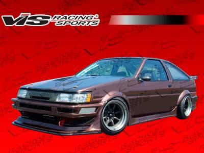 VIS Racing - Toyota Levin VIS Racing RF Side Skirts - 84TYLEV2DRF-004