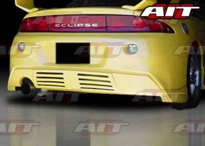 AIT Racing - Mitsubishi Eclipse AIT GTB Style Rear Bumper - ME97HIGTBRB