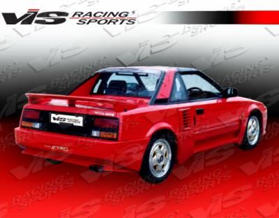 VIS Racing - Toyota MR2 VIS Racing Techno R Side Skirts - 85TYMR22DTNR-004