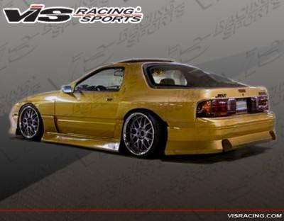 VIS Racing - Mazda RX-7 VIS Racing B Speed Side Skirts - 86MZRX72DBSP-004