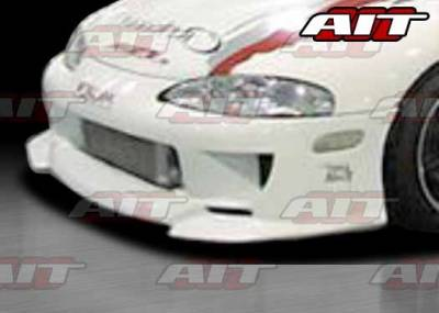 AIT Racing - Mitsubishi Eclipse AIT SFI Style Front Bumper - ME97HISFIFB