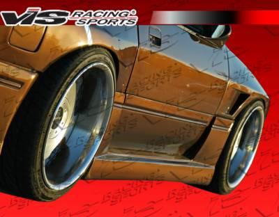 VIS Racing - Mazda RX-7 VIS Racing G Speed Side Skirts - 86MZRX72DGSP-004