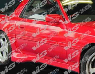 VIS Racing - Toyota Supra VIS Racing Demon Side Skirts - 86TYSUP2DDEM-004