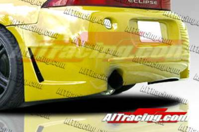 AIT Racing - Mitsubishi Eclipse AIT Racing Zen Style Rear Bumper - ME97HIZENRB