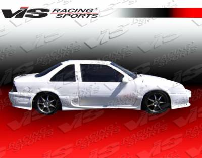 VIS Racing - Chevrolet Beretta VIS Racing Invader-2 Side Skirts - 88CHBER2DINV2-004