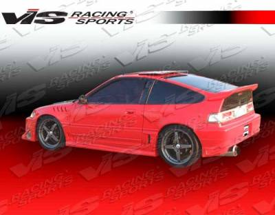 VIS Racing - Honda CRX VIS Racing Battle Z Side Skirts - 88HDCRXHBBZ-004