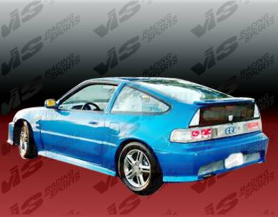 VIS Racing - Honda CRX VIS Racing Techno R Side Skirts - 88HDCRXHBTNR-004
