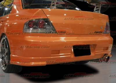 AIT Racing - Mitsubishi Lancer AIT Racing CW Style Rear Bumper - MEVO03HICWSRB