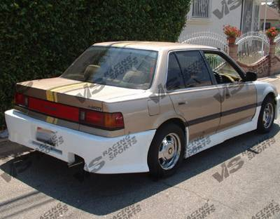 VIS Racing - Honda Civic 4DR VIS Racing Z1 boxer Side Skirts - 88HDCVC4DZ1-004