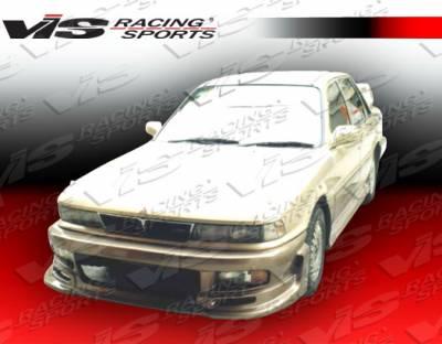 VIS Racing - Mitsubishi Galant VIS Racing Cyber Side Skirts - 88MTGAL4DCY-004