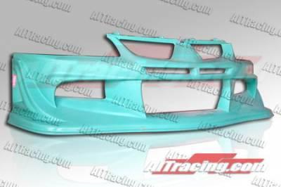 AIT Racing - Mitsubishi Lancer AIT Racing VS Style Front Bumper - MEVO03HIVSSFB