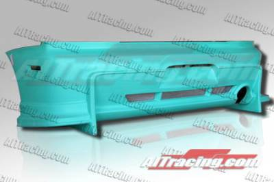 AIT Racing - Mitsubishi Lancer AIT Racing VS Style Rear Bumper - MEVO03HIVSSRB