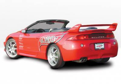 Wings West - Mitsubishi Eclipse Wings West Factory Style Side Skirts - Left & Right - 890055L&R