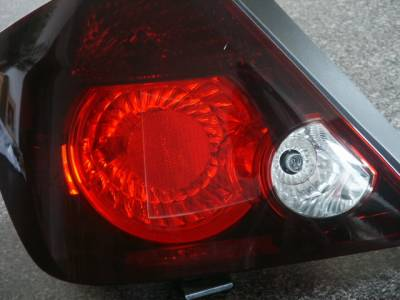 Custom - Smoked Tail light Overlays and Cut outs