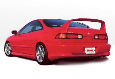Wings West - Acura Integra 2DR Wings West Racing Series Side Skirts - Left & Right - 890080L&R