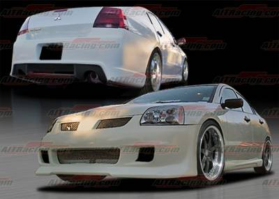 AIT Racing - Mitsubishi Galant AIT Racing GRS Style Complete Body Kit - MG04HIGRSCK