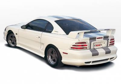 Wings West - Ford Mustang Wings West Custom Style Side Skirts - Left & Right - 890111L&R