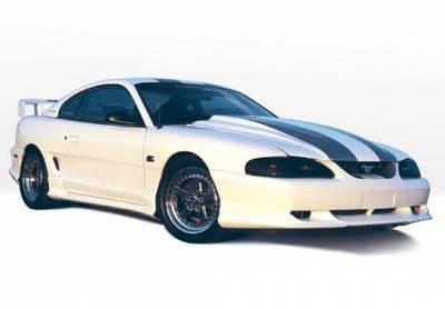 VIS Racing - Ford Mustang VIS Racing Custom Style Right Side Skirt - 890111R