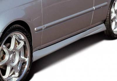 VIS Racing - Honda Civic 2DR & Hatchback VIS Racing Racing Series Left Side Skirt - 890131L
